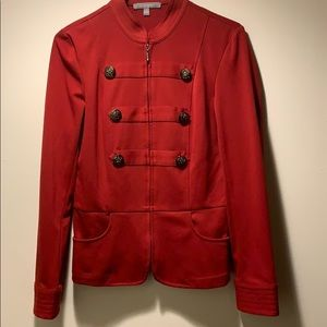 NY Collection Red Jacket/Shirt
